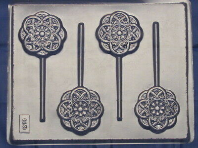 Snowflake Lollipop Chocolate Candy Mold 1276 Soap Party Favor Christmas