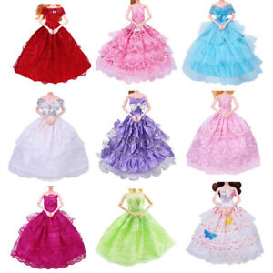 9PCS-handmade-barbie-doll-dress-mariage-Party-princesse-vetements-outfit-pour-12-in-environ-30-48-cm