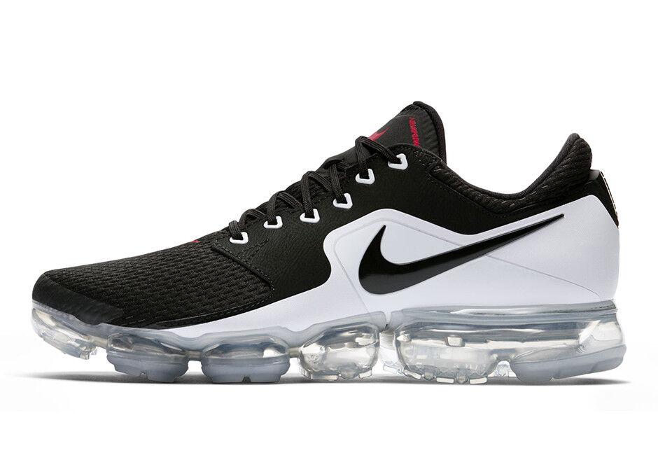 newest 2b004 95947 Nike Air Air Air Vapormax Mens Sz 10.5 11 Black White Metallic Silver  Running AH9046-