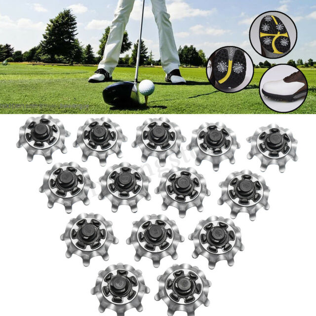 6778c6acde4 14 Pcs Replacement Golf Shoes Spikes Studs Cleats Fast Twist Tri-Lok For  Footjoy