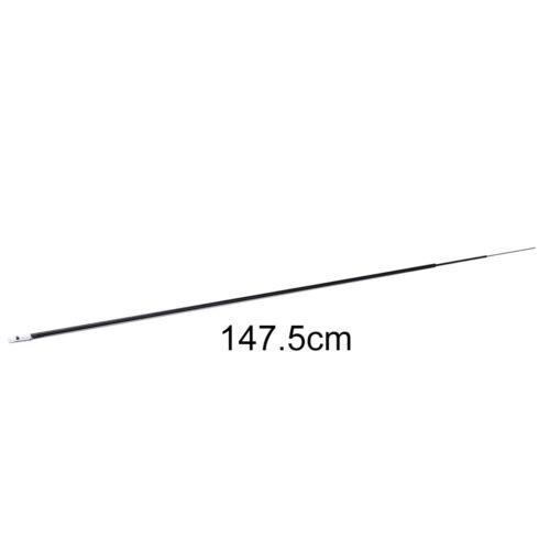 und Hohlkarbon-Langrute Zubehör  TYD 58cm 3 Intervalle Angelruten-Spitzen Voll