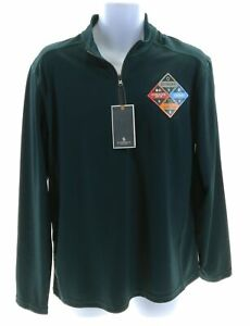 G-H-Bass-amp-Co-Mens-Pacific-Heather-Green-Pullover-Size-Medium-MSRP-65