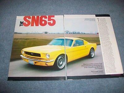 1965 Ford Mustag Fastback Custom Restomod Artikel Der Sn65