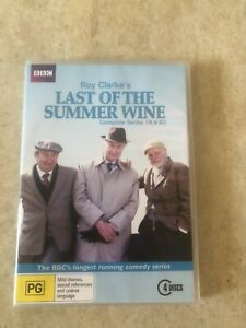 BBC-LAST-OF-THE-SUMMER-WINE-SERIES-19-amp-20-4-DISC-SET-DVD-R4-AUS-SELLER