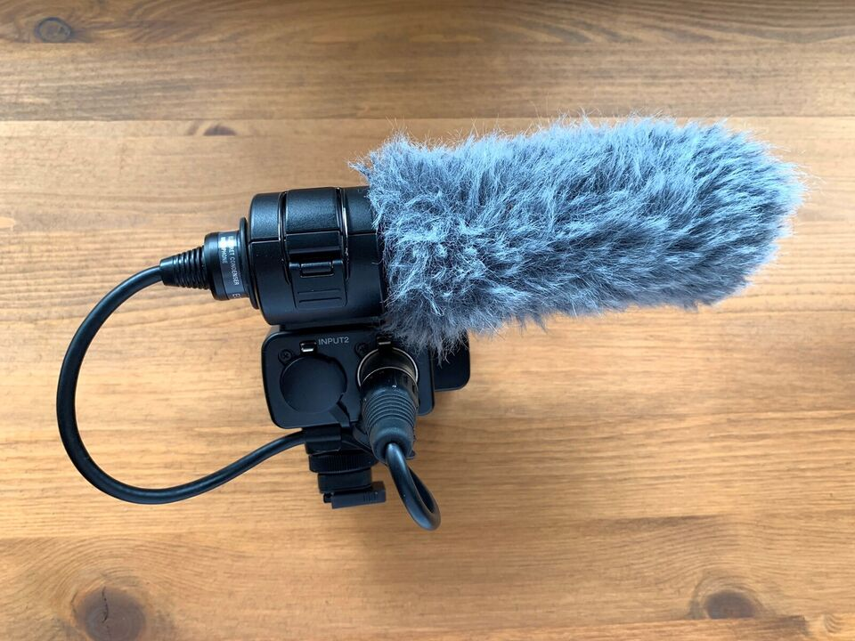 Audio adapter, Sony, XLR-K2M