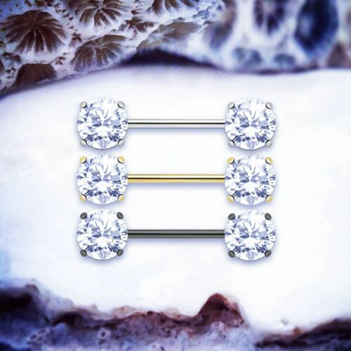 Oliviaoro anillos de pezón Pezón Joyas Pezón Piercings barras de pezón