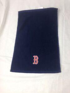 Boston-Red-Sox-11-X-18-Waffle-Towel-MLB-Blue-NWOT