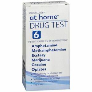 At Home Drug Test >> 02 16 D51294 Quickscreen At Home Drug Test For 6 Drugs Exp 674033091504