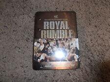 ROYAL RUMBLE 2008 wwe EXCLUSIVE TIN dvd BRAND NEW wrestling SHIP WORLDWIDE