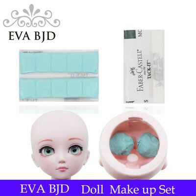 1 Pc 90 Square Eye Fixer Solid Glue Rubber Clay Sticky for BJD SD Doll Eyes DIY