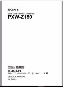 Sony-PXW-Z150-service-manual-Digital-Delivery-in-PDF-format