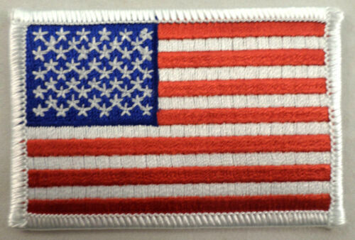 Usa American United States Flag Freedom Patriotism Uniform Patch #Mswh Version 2