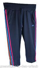 Adidas Damen Caprihose Capri Hose 3/4 Hose Sporthose Fitnesshose S NEU