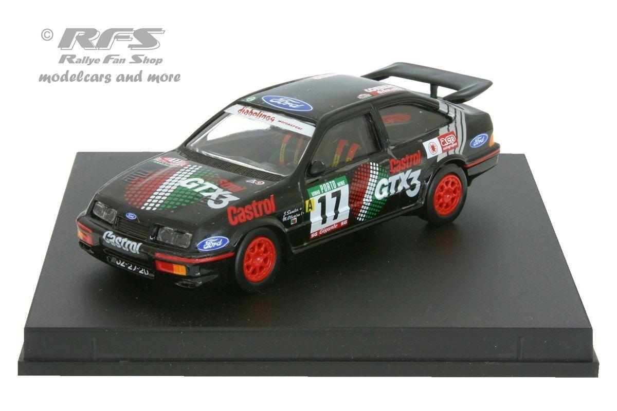 Ford sierra rs cosworth-rallye portugal 1990-santos - 1 43 trofeu 0114