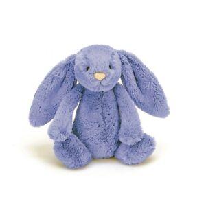 Jellycat London Bashful Bluebell Blue Bunny Medium Soft Plush Toy 31cm