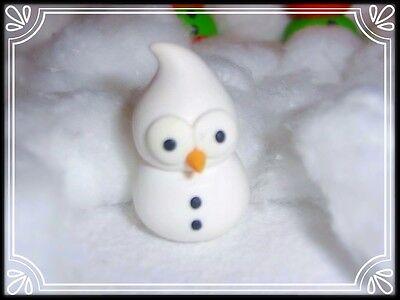 ** Santa hat Zingy EDF mascot handmade fimo ~ keychain car mirror ~ pendant **