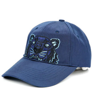 23b60ba229 Details about KENZO Tiger Cap Mens Womens Navy Hat 5AC301 F20 76 Adjustable  Outdoor Gift Auth