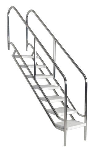 ** Schwimmbadtreppe V4A mit 5 Stufen Treppe Einbautreppe Pooltreppe Pool **