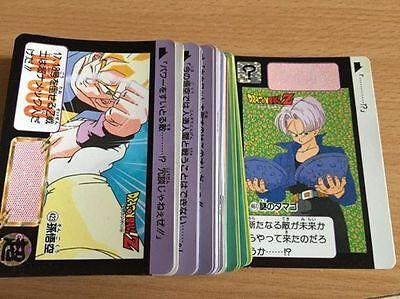 Carte Dragon Ball Z DBZ Carddass Hondan Part 11 #421 Prisme 1992 MADE IN JAPAN