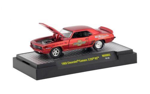 "1969 Chevrolet Camaro Z//28 RS /"" MOON EYES *** M2 Machines BOX 1:64 OVP"