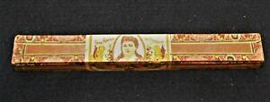 Andres-Corrales-Wooden-Cigar-Box-Vintage-1940-Single-Cigar-La-Perla-Registro-155