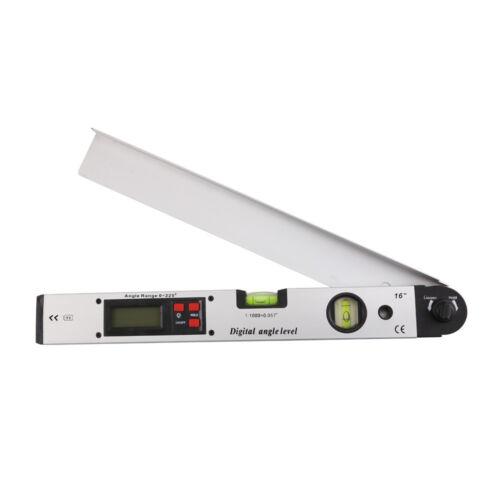 Digital Angle Finder Spirit Level Meter Upright Inclinometer Protractor Ruler,UK