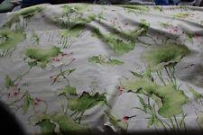 KIPLING BIRD/FROG Chintz  Fabric By The Yard