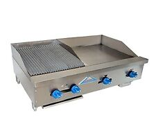 Comstock Castle Fhp42 24 15rb 42 Countertop Gas Griddle Charbroiler