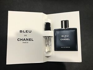 Bleu De Chanel Eau De Parfum Edp Sample 005oz15ml Spray Sample