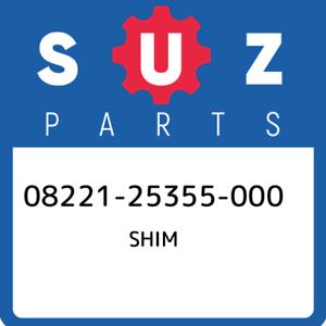 08221-25355-000-Suzuki-Shim-0822125355000-New-Genuine-OEM-Part