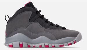 brand new 2cce6 54953 Image is loading Nike-Big-Kid-039-s-Air-Jordan-10-