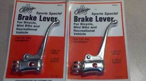 Schwinn Stingray Fastback Krate /& others Lever clamps # 22 1 pair re chromed