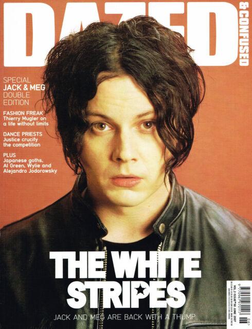 DAZED & CONFUSED 6/2007 JACK WHITE White Stripes AGYNESS DEYN Masha Tyelina MINT