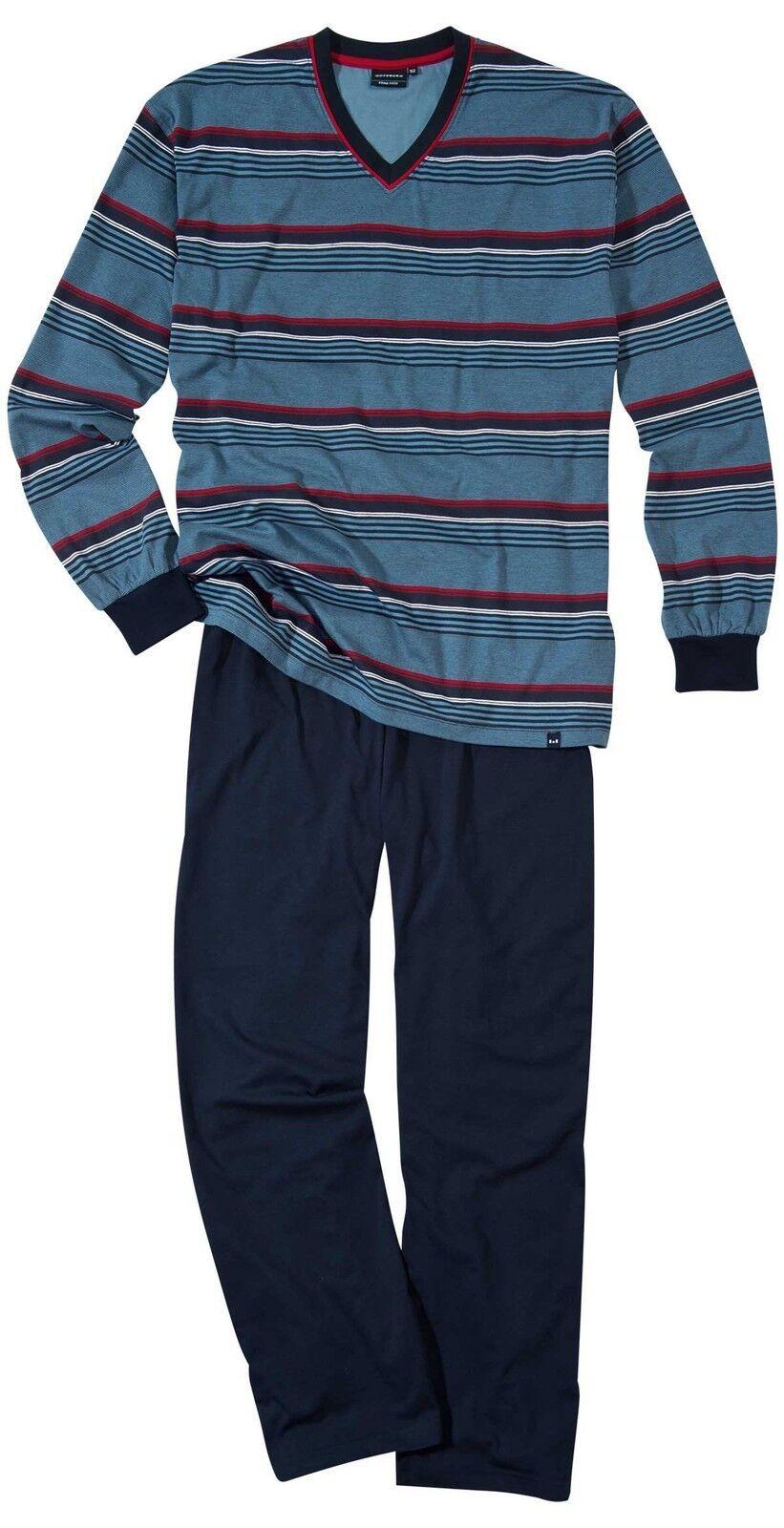 Götzburg Herren Schlafanzug Pyjama  navy navy navy 451565 8426 | Spielen Sie das Beste  fa1a3b