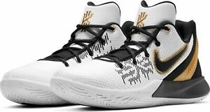 uk availability 206e8 f924d Details about Nike Kyrie Flytrap 2 Black/White/Gold II Kyrie Irving  Basketball 2019 All NEW