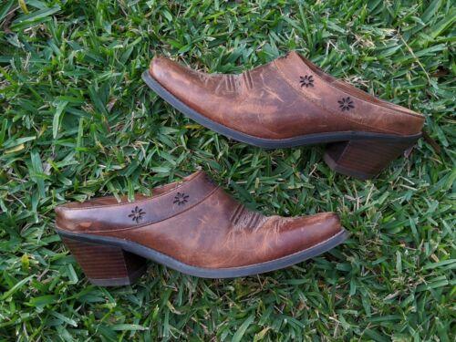 Ariat Leather Heritage Wingtip Western Shoe 9 Cowb