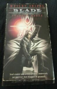 VHS-Movie-Blade-Version-Francaise-Wesley-Snipes