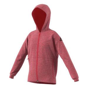 Sweat fille ID Stadium Full Zip Adidas Rose 14 ans   eBay a819c41dee54