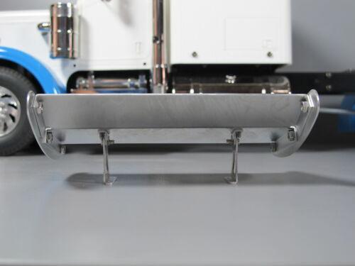 Aluminium 13.1cm Dach Spoiler Flügel für Tamiya R//C 1//14 King Grand Hauler Lkw