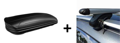 Dachbox MAA320M Relingträger Alu für Mercedes Vaneo 414 ab 02 abschließbar