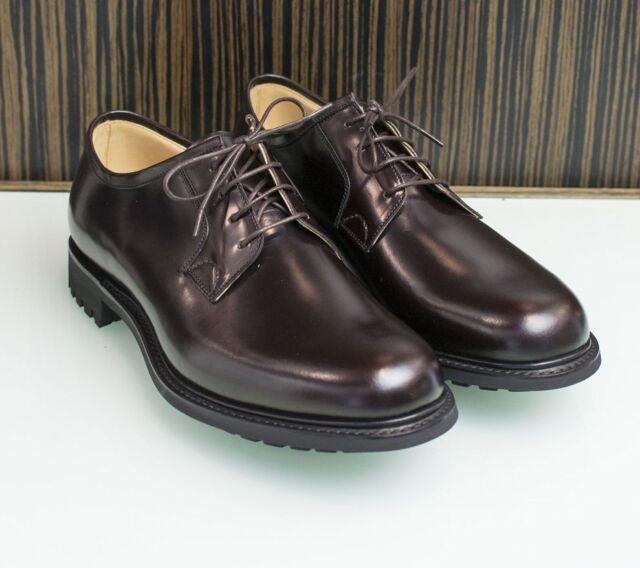 3b13d78ed6e9e0 NEW CHURCH´S shoes Newbridge 6208 Cordovan Bright Calf rigid rubber sole  ALL siz