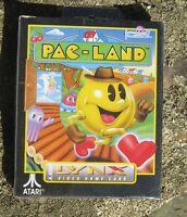 Pac-land (atari Lynx, 1991) Sealed Complete In Box Rare