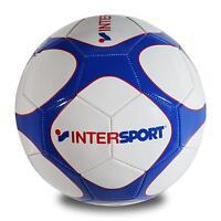 Pro Touch Intersport Fussball Ball Gr. 5 Trainingsball Weiß/blau/rot 418 Neu