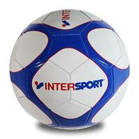 Pro Touch Intersport Fussball Ball Gr. 5 Trainingsball Weiß/blau/rot 418 Neu