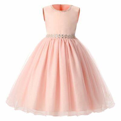 Vestidos Niña Princesa Cumpleaños Nueva Moda Vestido Elegante Ropa Para Niñas Ebay