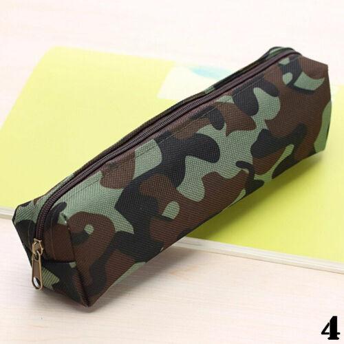Camouflage Federtasche Rolle Stifteetui Pencilcase Bag Mäppchen Federmappe Z2W4
