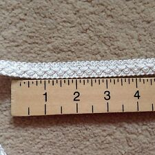 Premium15mm Heavy Gimp Braid - Furnishing - Per Metre - WHITE