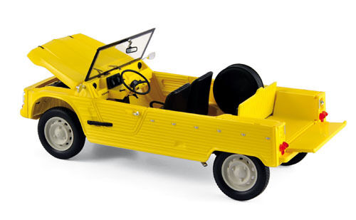 NOREV 1  18 AUTO DIE CAST CITROEN MEHARI 1983 jaune  ART 181525  prix les plus bas