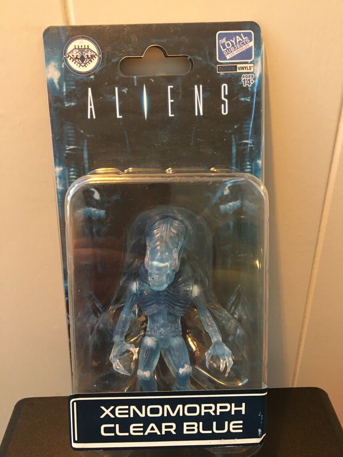The Loyal Subjects Aliens SDDC Blau Clear Xenomorph Carded Unopened
