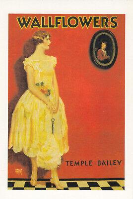 (15690) Postcard Wallflowers By Temple Bailey - Modern Reproduction Unused De Laatste Mode